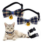 Adjustable Cute Pet Puppy Dog Bow Tie Collar Kitten Cat Necktie With A Bell Xmas