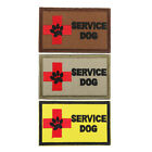 SERVICE DOG & Cross Embroidery Iron On Patch Sew For Clothing Applique Motif