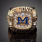 Michigan Wolverines 1997 Rose Bowl Championship Ring Heavy Solid
