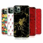 LIVERPOOL FC 2018/19 CREST & LIVERBIRD PATTERNS GEL CASE FOR APPLE iPHONE PHONES