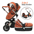 3in1 Baby Pram Newborn Buggy Pushchair Car Seat Stroller Carrycot Travel System
