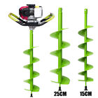 6'' 10'' Earth Auger Digging Bit Electric Post Hole Digger Soil Ice Fence Decks
