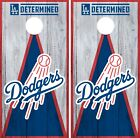 Los Angeles Dodgers Cornhole Wrap MLB Vintage Game Skin Set Vinyl Decal CO487 on Ebay