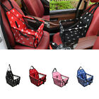 Pet Booster Seat for Dog Cat Carrier Travel Car Truck SUV Bag Storage Pocket