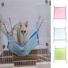 Pet Cat Dog Animal Kitten Mesh Pad Hammock Bed Basket Hanging Cage Ferret Rabbit
