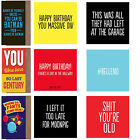 Inappropriate Funny,Rude,Offensive,Humorous ,Adult Birthday Greeting Cards