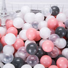 100pcs Eco-Friendly Plastic Ball Soft Ocean Balls Baby Swimming Pool Pit Toy