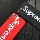For iPhone 7 7 Plus 8 8 Plus X 10 SUPREME Case Covers Different Designs Soft TPU