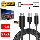 USB MHL to HDMI 1080p Cable TV Out Lead for Android Samsung LG HTC Phones