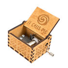 Youtang Moana Music box Hand Crank Musical Box Carved Wooden Music box,MusicGift