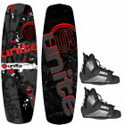 Base Sports REVOLVER 135 Package Wakeboard mit Wakeboardbindung red
