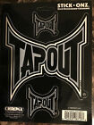 NEW Stick Onz TAPOUT,  FORD,  RAM Vinyl Decal Window Sticker MMA Chroma Graphics