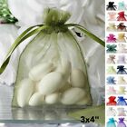 150 pcs 3x4 inch Wedding Favors ORGANZA BAGS - Pull String Gift Pouch Decoration