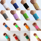 2Pcs Unisex Basketball Sports Cotton Sweat Band Sweatband Wristband Wrist Band