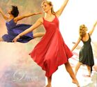 Just For Now ROSE Dance Costume Lyrical Ballet Ice Skating Dress Child Small New