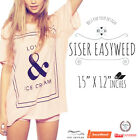 Siser Easyweed Iron-on Heat Transfer Vinyl 12 x 15 all colors Free Shipping