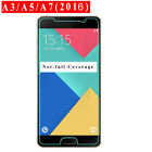 For Samsung Galaxy A10E A20E A50 A70 A5 A6 A7 A8 Tempered Glass Screen Protector