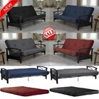 Soft Futon Sofa Bed Mattress 6 Daybed Couch Full Sleeper Lounger Tufted Cushion