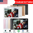 10.1'' Tablet PC Android 6.0 Octa Core 4G+64GB 10 Inch FHD WIFI 3G Phablet NEW