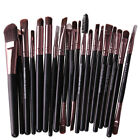 20Pcs Rose gold Makeup Brushes Set Pro Powder Blush Foundation Eyeshadow Eyeline