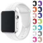 Fashion Silicone Sports Wrist Strap Band For Apple Watch iWatch 1/2/3 42mm 38mm image