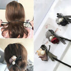Women's Flower Pearl Hair Ring Hair Bands Headband DIY Hair Accessories Fashion