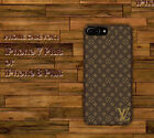 Brown Louis Vuitton2OI8 Hard Case Cover for iPhone 7 Plus 8 Plus X