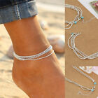 Anklet Ankle Bracelet Cheville Barefoot Sandals Foot Jewelry Leg Chain On Foot