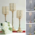 Pearl Beaded Metal Candle Holders Wedding Centerpieces Party Home Decorations