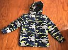 NWT Gymboree Boys Winter Puffer Jacket in Camo S (5-6), M (7-8), L (10-12)