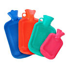 2 Litre Liter Hot Water Bottle Hotwater Thick Rubber Warmer Screw Small 1L