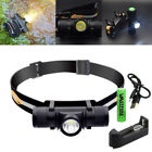 6 Modes USB 1000LM L2 Waterproof Headlamp Head Light Hunting Camping Torch 18650