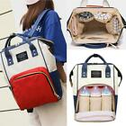 Women Mummy Maternity Nappy Diaper Bag Large Capacity Baby Bag Travel Backpack