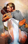 First Day In Heaven - I HELD HIM AND WOULD NOT LET HIM GO Reprint Jesus Male