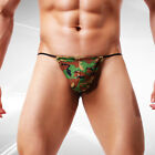 Mens Underwear Sexy Fashion Panties Underpants Camouflage Pouch High Waist S-XL