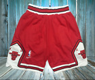 Chicago Bulls Jordan Vintage Basketball Game Shorts NBA Men's NWT Stitched on eBay