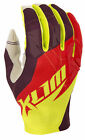 Klim Mens Red/Yellow XC Dirt Bike Off Road Gloves MX ATV
