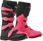Thor Womens Black/Pink Blitz XP Dirt Bike Boots MX ATV 2019