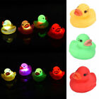 LED Flashing Light rubber floating Duck with Bath Tub Shower Toy for Kids Toys