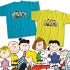 Peanuts Charlie Brown Snoopy Friends Group Mens Womens Kids Unisex Tee T-Shirt image