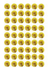 54 Edible Personalised Photo Cupcake Cake Toppers Wafer Rice Paper Icing Sheets