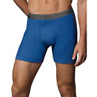 5-Pack Hanes Men's TAGLESS Ultimate Fashion Boxer Briefs with Comfort Flex