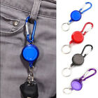 Внешний вид - 1PC 20cm Retractable Key Chains Badge Reel Recoil Carabiner ID Ski Pass Holders