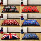 Dog Bed Large XLarge Removable Zipped Cover Washable Pet Bed Cushion & Cover New