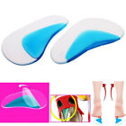 Unisex Orthotic Arch Support Insole Flat Foot Corrector Shoe Cushion Insert 2pc