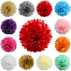 "12 pcs 16"" POM POM BALLS WEDDING PARTY Centerpieces Decorations WHOLESALE"
