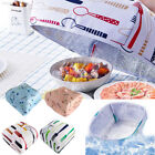 7BD3 DustProof Food Cover Foldable Folding Heat Preservation Insulation Kitchen