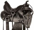 Western Saddle Ranch Pleasure Trail Leather Horse Tack Set 15 16 17 in
