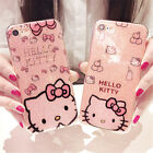 Girls' Cute Hello Kitty Bling Giltter Case Cover for iPhone