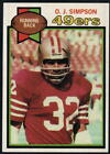 1979 Topps Football - Pick A Player - Cards 1-200 $0.99 USD on eBay